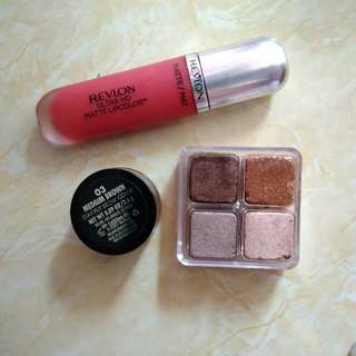 Take All(Free Ongkir Jkt) Revlon Ultra HD Lipcolor,Milani Medium Brown,Shop Shimmer Cubes Lumiere