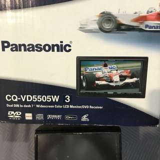 Panasonic DVD/MP3 Car Player