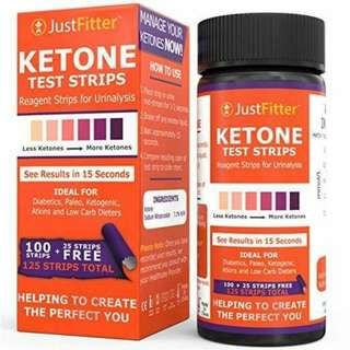 Just Fitter Ketone Test Strips