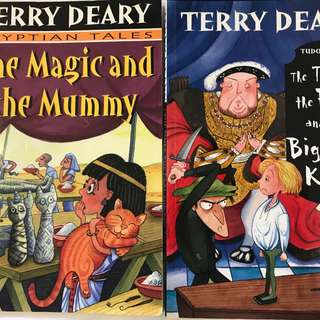 Terry Deary, Mighty Robot, Horrid Henry