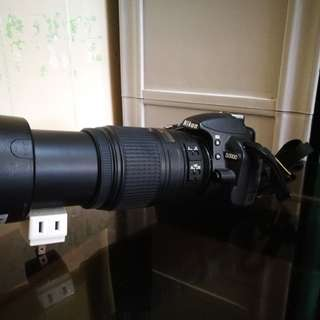NIKON D3100 DSLR with Nikor AF-S 55-300mm VR lens