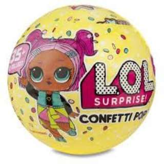 LOL Surprise Confetti Pop Series 3