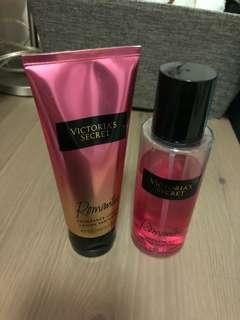 Victoria Secret Romantic fragrance mist + lotion