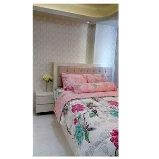 Sewa Apartemen Bassura City Tipe 2BR full furnish 45jt/thn