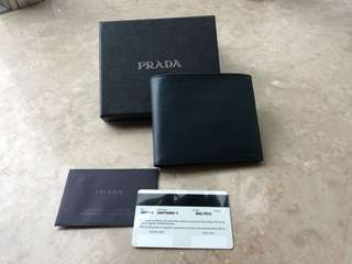 Prada Men's Wallet (navy blue)