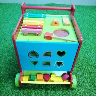 Mothercare activity cube push walker