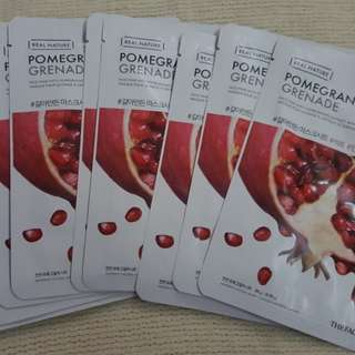 The Face Shop Face Mask - Pomegranate Grenade