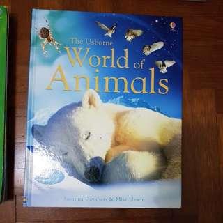 Usborne World of Animals (science)