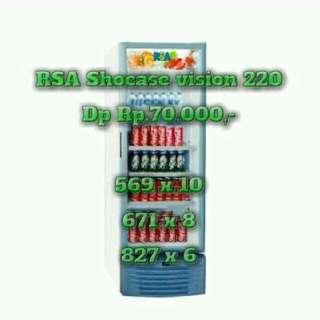 Kredit Cepat Tanpa Dp RSA Showcas 4 Rak
