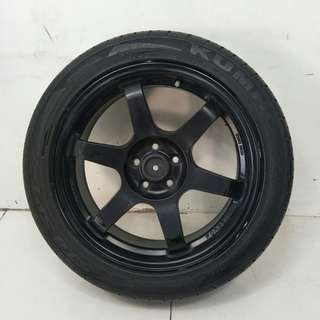 17 '' Sport Rim With Tyre 5x100 (SR930)