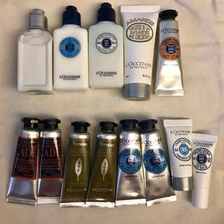 L'Occitane Samples