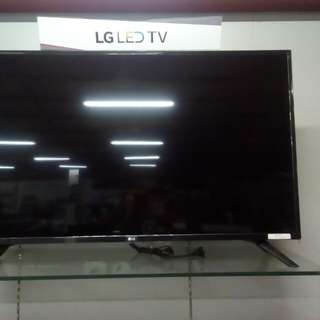 """TV LG 43"""" bisa kamu cicil, dapatkan promo menarik gratis 1x angsuran"""