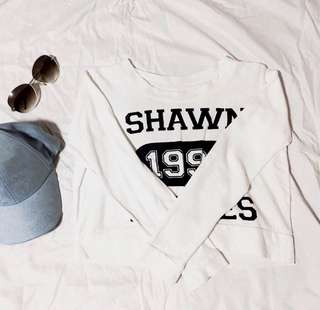 Shawn mendes cropped top