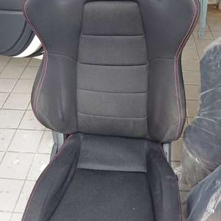 Sscus Sports Seats Black