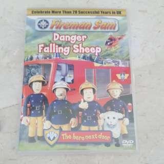 Children dvd -fireman sam
