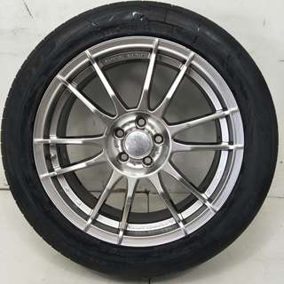 17 '' Sport Rim With Tyre 5x100 (SR931)