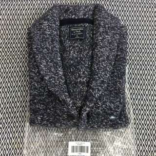 (S) Authentic A&F Snuggle Shawl Cardigan