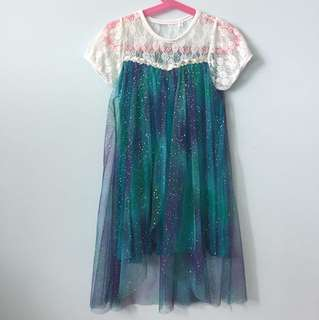 Disney Frozen Elsa Inspired Dress