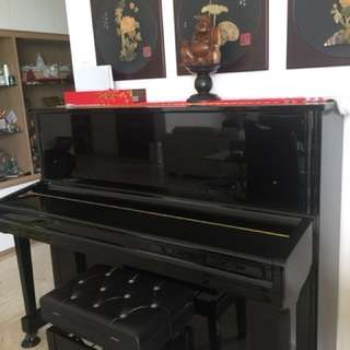 Cristofori Upright Piano KC121EP - Good for young kid learning piano. Price will reduce Everyday. Grab it at the right price!