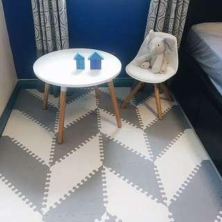 GEO MATS stylish puzzle mats