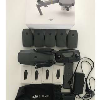 Mavic Pro amazing package deal, almost never used
