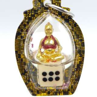 Thai amulets Kumanthong bring lucky good fortune, gambling luck, calling customers, windfall of money