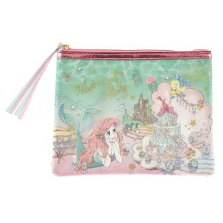 JAPAN DISNEYSTORE, JAPAN IMPORTED: Pouch series - Little Mermaid Ariel Princess Party Pencil Case Pouch
