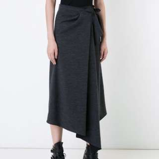 Wool Terry scanlan Theodore skirt