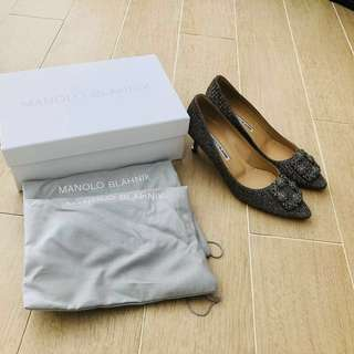 Manolo Blahnik Hangisi 50mm size 39 (IT)