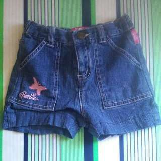 Barbie Maong Short ( 5yrs old)