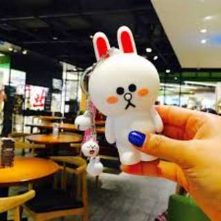 Cute Cony Rabbit Line Friends 8000 Mah Portable Powerbank