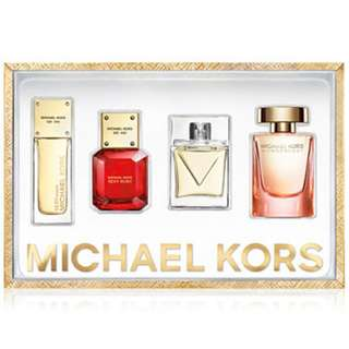 MICHAEL KORS 4PC MINI GIFT SET