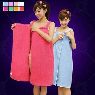 Women's robe towel