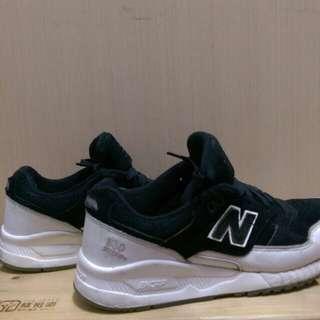 #可議價 New Balance 530 黑白運動鞋 24半