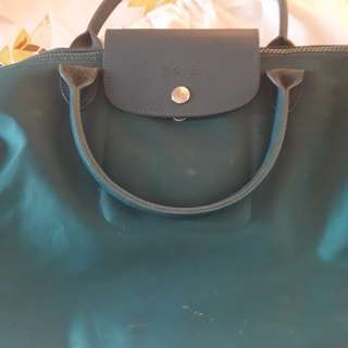USED Longchamp Neo Medium (Emerald Green)