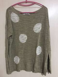 Zara knit sweater Medium