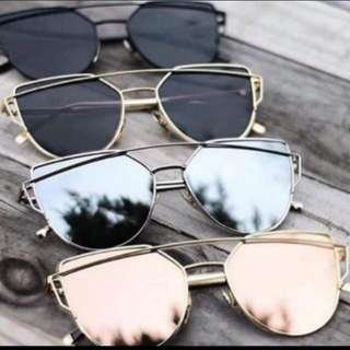Sunglasses korean cateye style