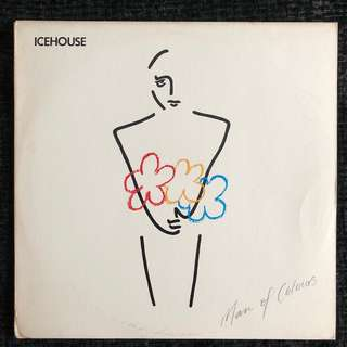 Icehouse ‎– Man Of Colours (Promo Vinyl - Club Edition, LP Album)