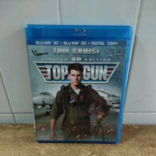 (Reserved) Top Gun - Limited 3D Edition - Blu-ray 3D & Blu-ray 2D - US import (original)