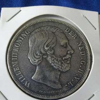 1867 Netherland 21/2 G