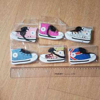 BNIP A set of 6 Sneakers notebook notepad