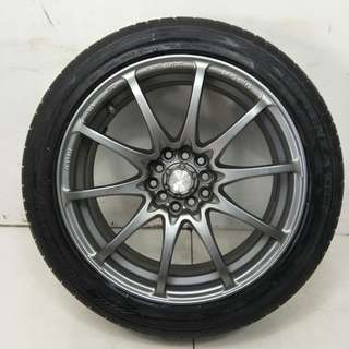 17 '' Sport Rim With Tyre 5x100 5x114.3 (SR934)