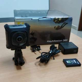 Go Pro Like 360 Degree Camera: Nikon 360 Keymission