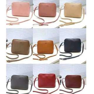 Kate spade sling leather