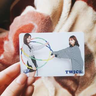 Twice Tzuyu & Nayeon YES! card