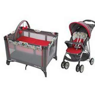Graco Playpen and Stroller