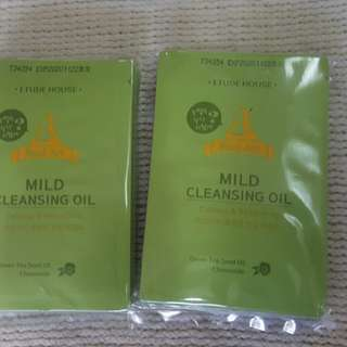 EH Real Art Mild Cleansing Oil Sachet