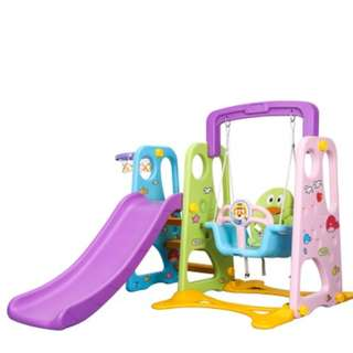 FREE DELIVERY 3-IN-1 SWING SLIDE PLAYGROUND