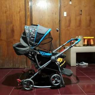 Baby First Stroller and Baby Company Beetle walker