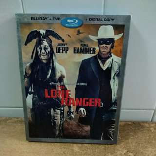 The Lone Ranger - Blu-ray & DVD with slipcase - US import (original)